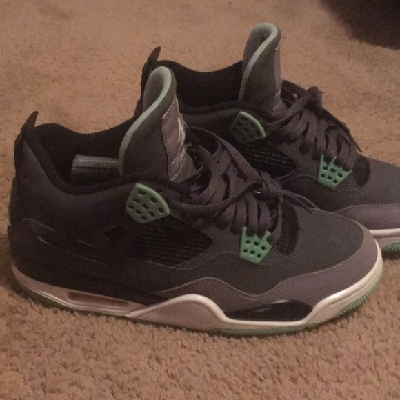 new styles 79bc5 18015 Green glow 4's